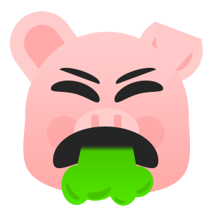 Pretty Pig messages sticker-9