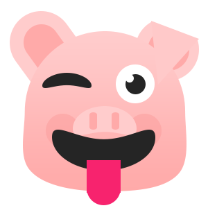 Pretty Pig messages sticker-0