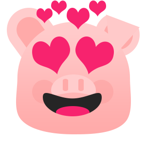 Pretty Pig messages sticker-4