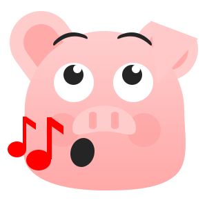 Pretty Pig messages sticker-10