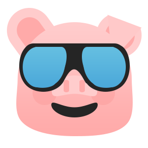 Pretty Pig messages sticker-11