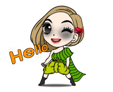 Cute Girl Makeup In Halloween messages sticker-5