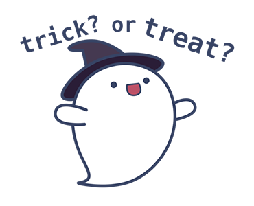Baby Ghost Check In Halloween messages sticker-7