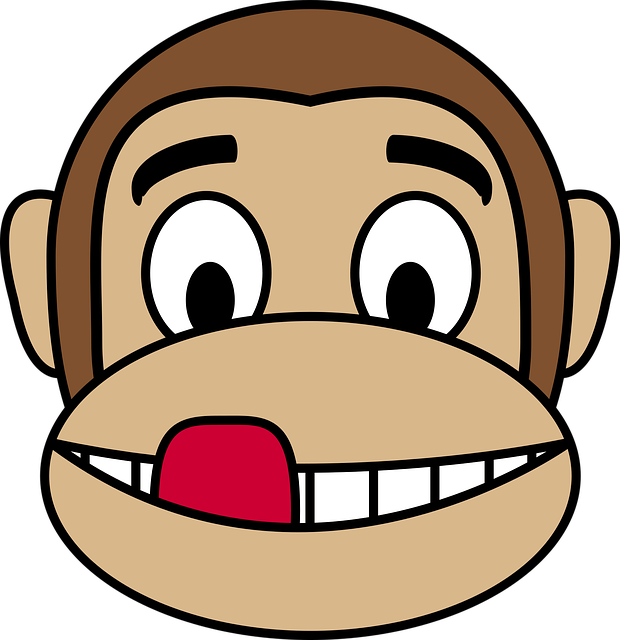 Monkey Face Emoji Stickers messages sticker-8
