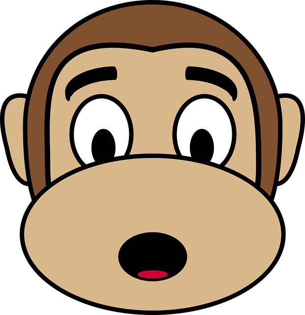 Monkey Face Emoji Stickers messages sticker-6