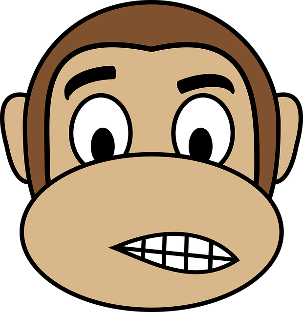 Monkey Face Emoji Stickers messages sticker-9