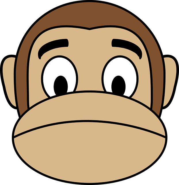 Monkey Face Emoji Stickers messages sticker-1