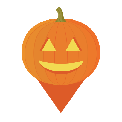 Trick or Treat Map messages sticker-0
