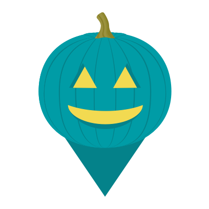 Trick or Treat Map messages sticker-1