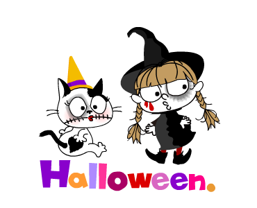 Happy With Halloween Days messages sticker-6