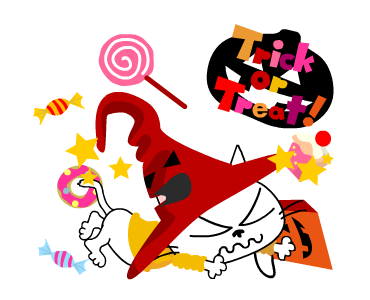 Happy With Halloween Days messages sticker-1