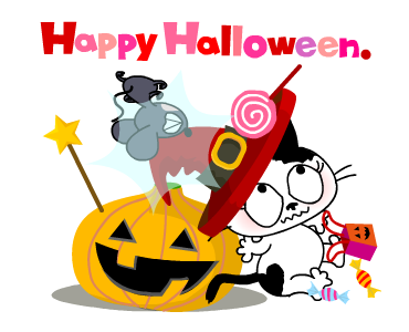 Happy With Halloween Days messages sticker-0
