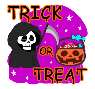 Halloween Trick Or Treat Night messages sticker-8