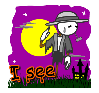 Halloween Trick Or Treat Night messages sticker-2