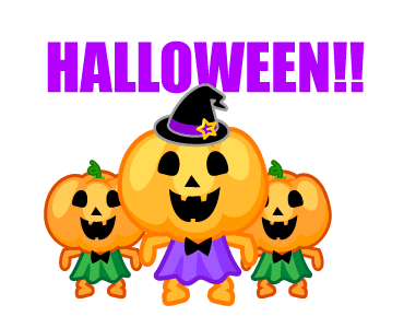 Monster Pumpkin In Halloween messages sticker-0