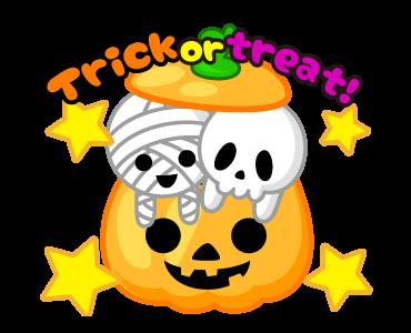 Monster Pumpkin In Halloween messages sticker-8