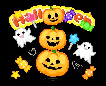 Monster Pumpkin In Halloween messages sticker-2