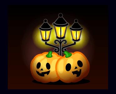 Monster Pumpkin In Halloween messages sticker-1