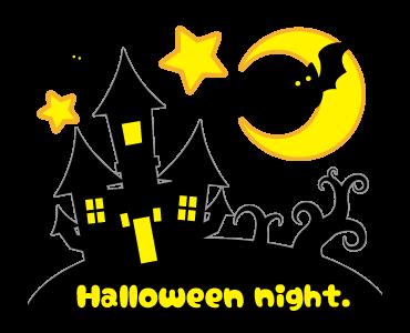 Monster Pumpkin In Halloween messages sticker-3