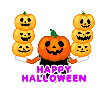 Monster Pumpkin In Halloween messages sticker-9