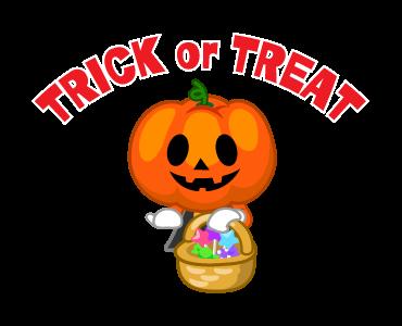 Monster Pumpkin In Halloween messages sticker-11