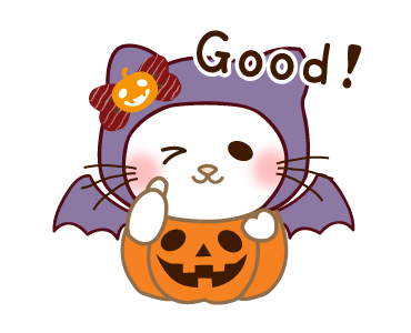 Halloween Night With Kitty messages sticker-11