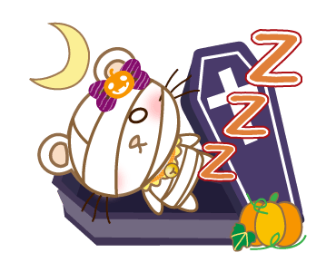 Halloween Night With Kitty messages sticker-10