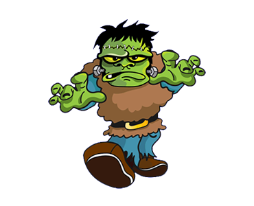 Monster For Halloween Days messages sticker-1