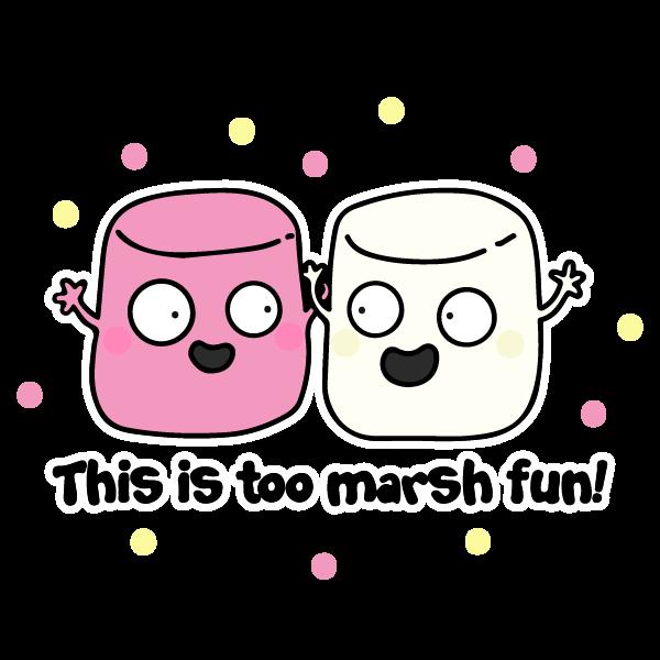 Flossy and Jim: Mojimoji messages sticker-11