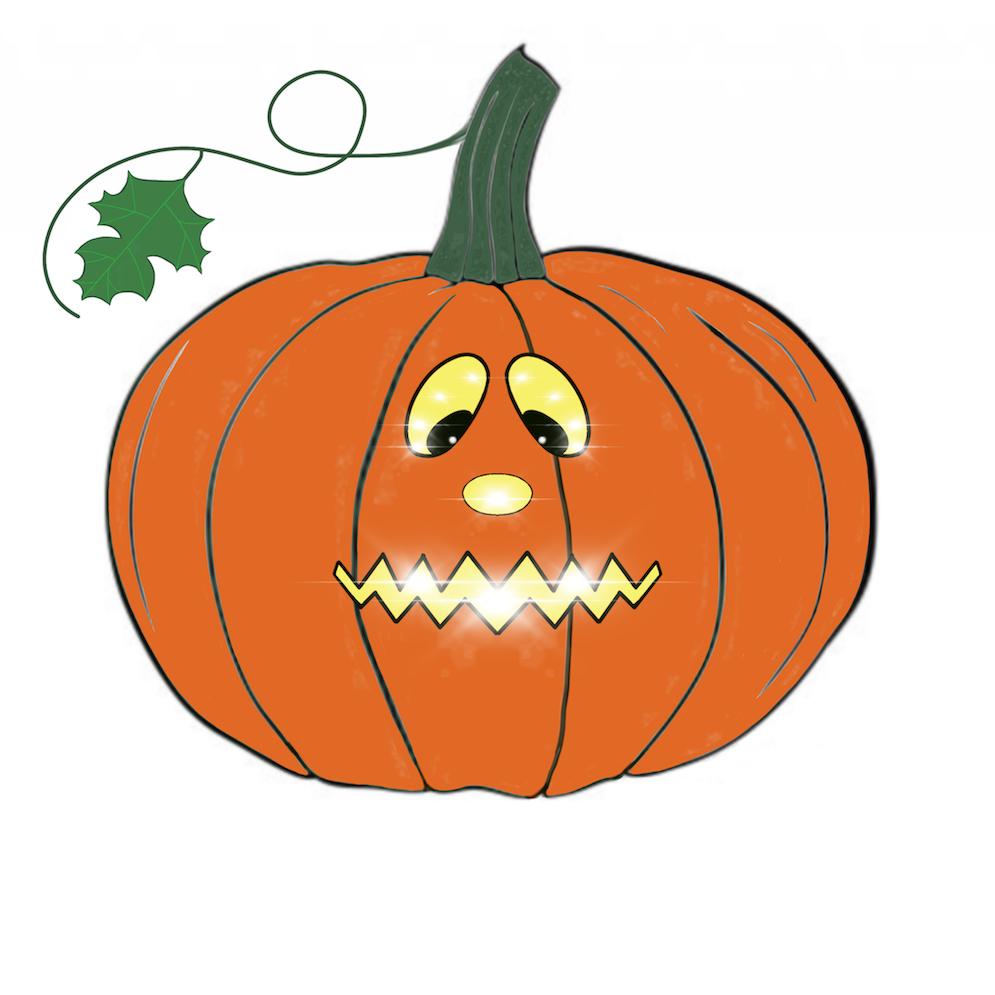 Pumpkin time stickers messages sticker-8