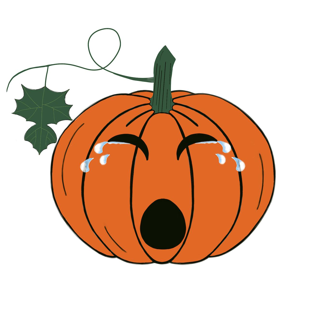 Pumpkin time stickers messages sticker-5