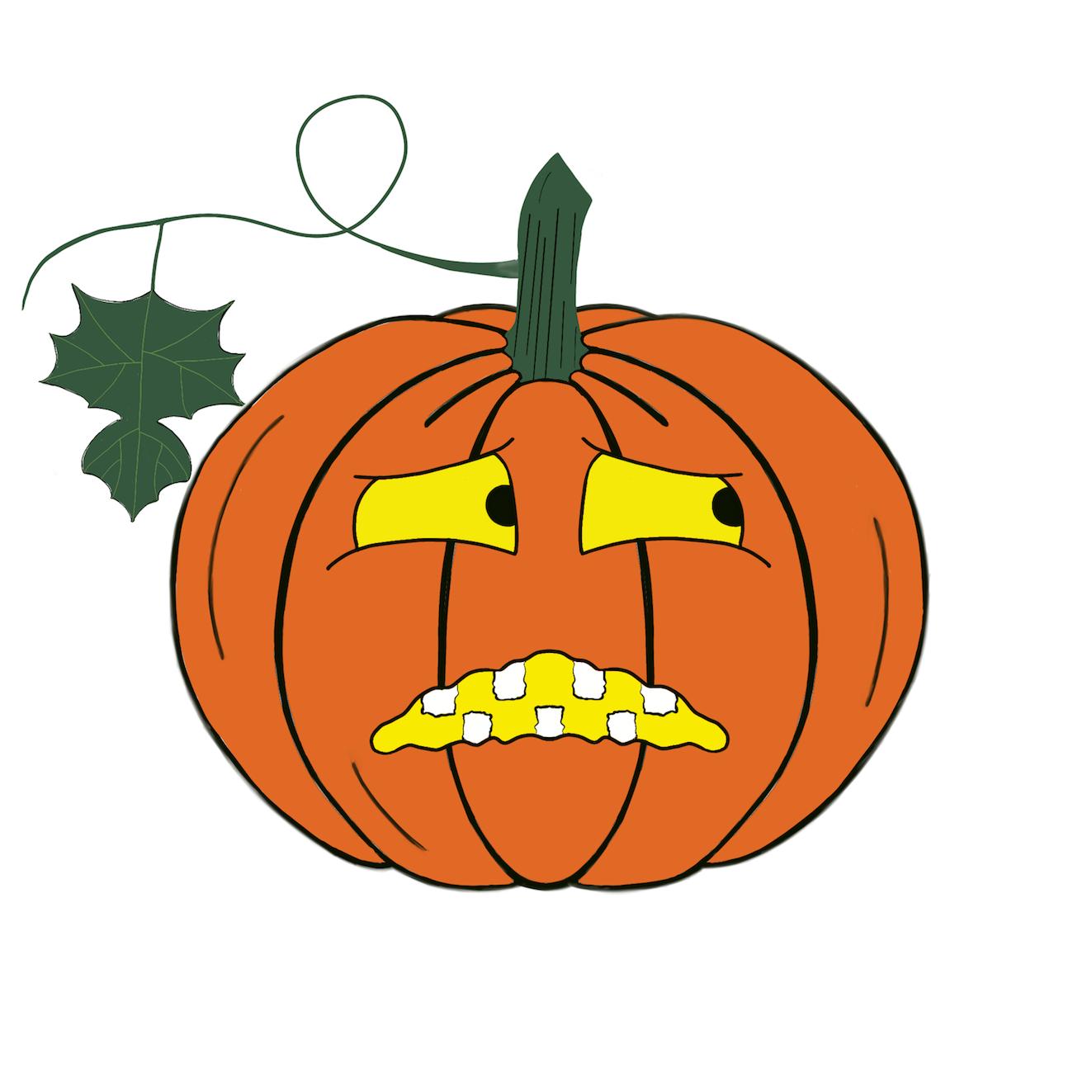 Pumpkin time stickers messages sticker-1