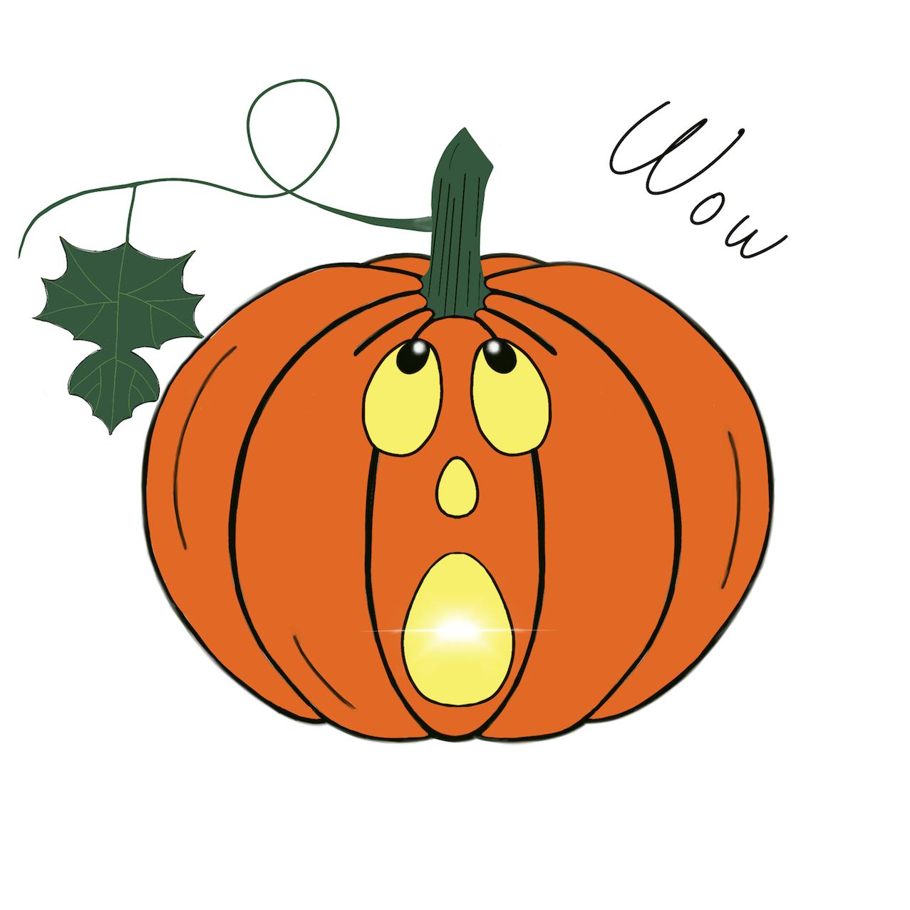 Pumpkin time stickers messages sticker-6