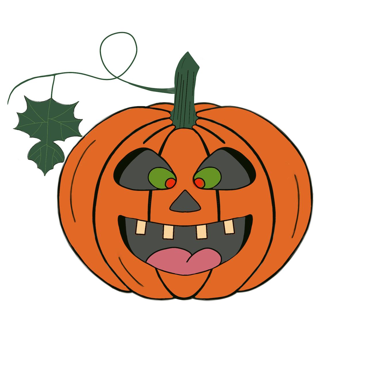 Pumpkin time stickers messages sticker-4