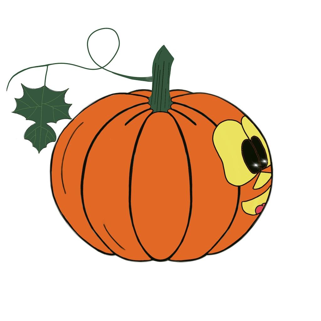 Pumpkin time stickers messages sticker-0