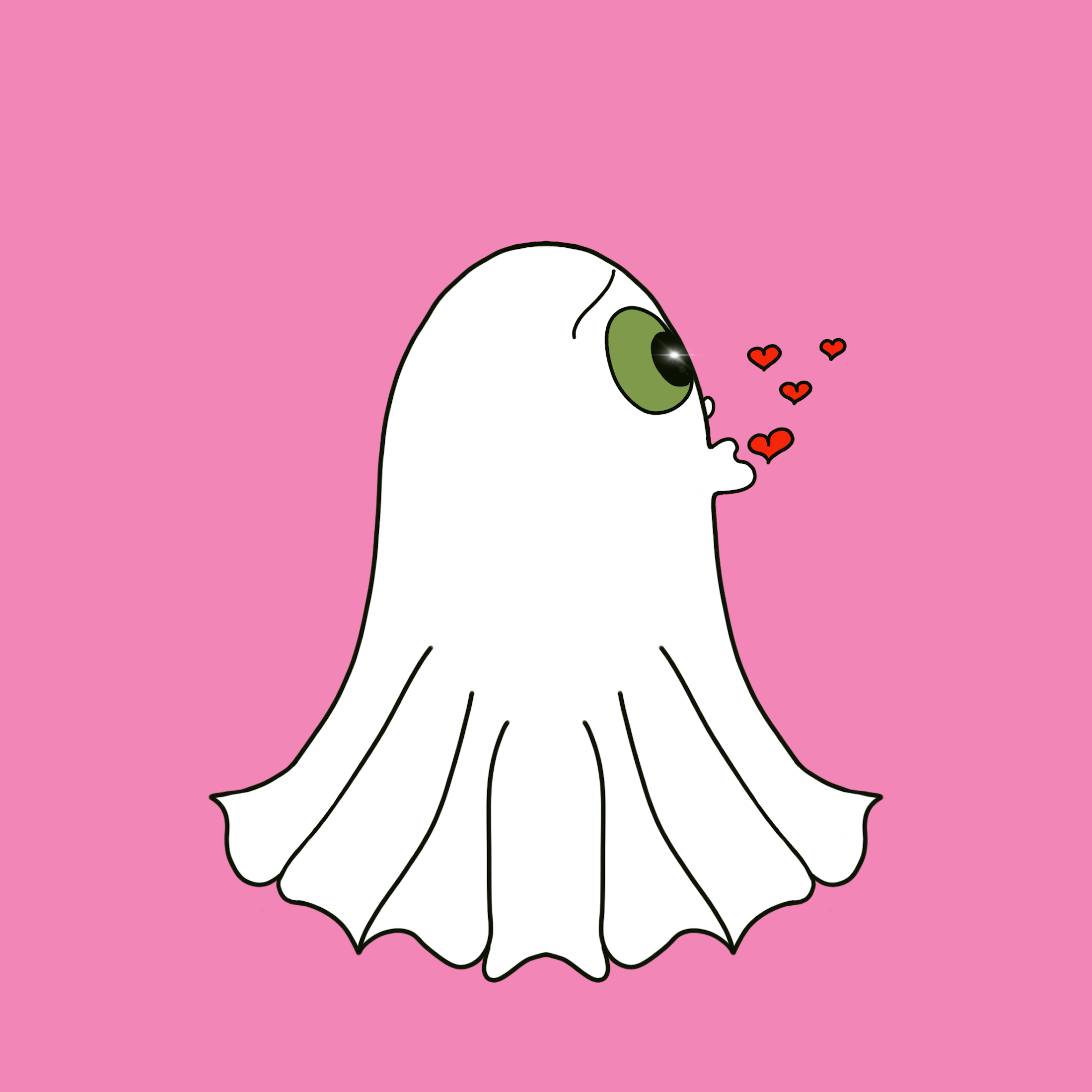 Cute Halloween Ghost stickers messages sticker-4