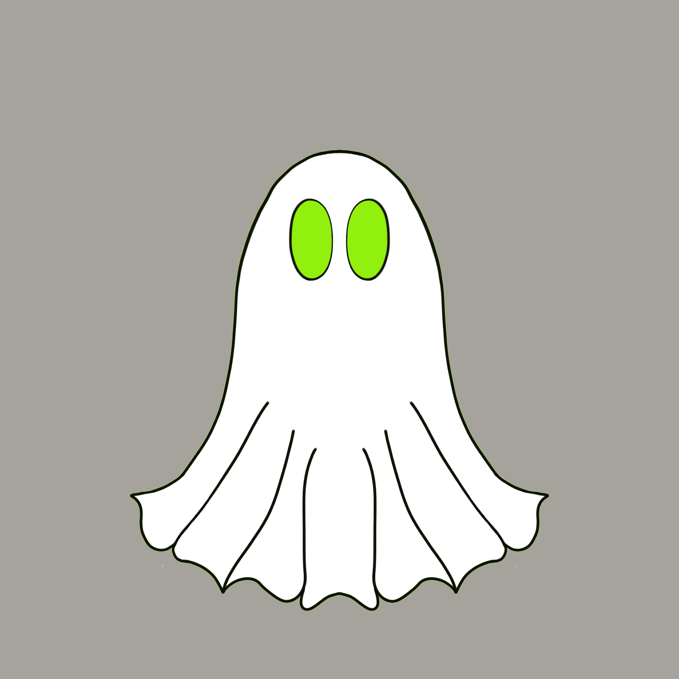 Cute Halloween Ghost stickers messages sticker-7