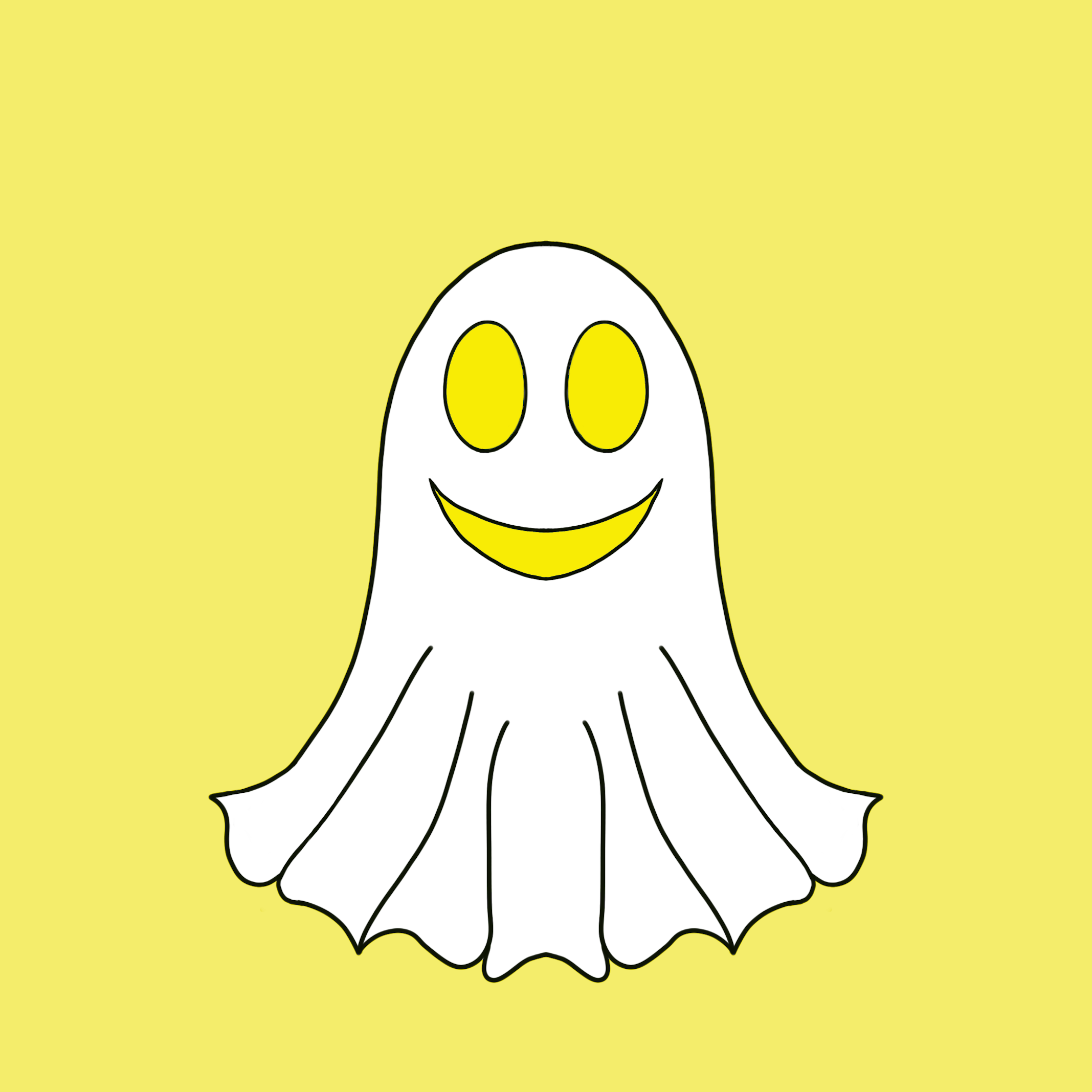 Cute Halloween Ghost stickers messages sticker-2