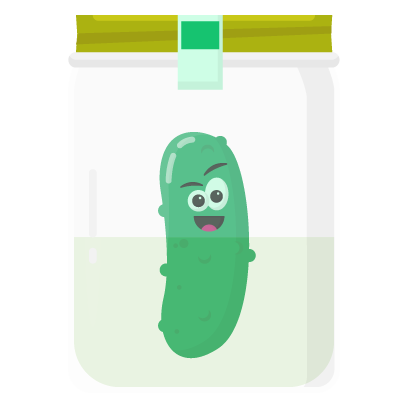 Pi Pickle Stickers messages sticker-9