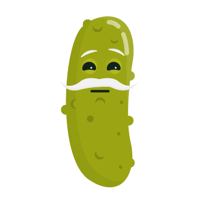 Pi Pickle Stickers messages sticker-1