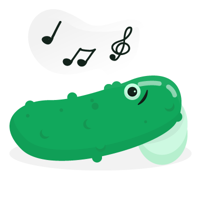 Pi Pickle Stickers messages sticker-7