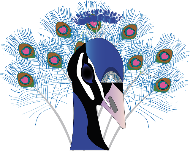 Pretty Peacock Stickers messages sticker-0