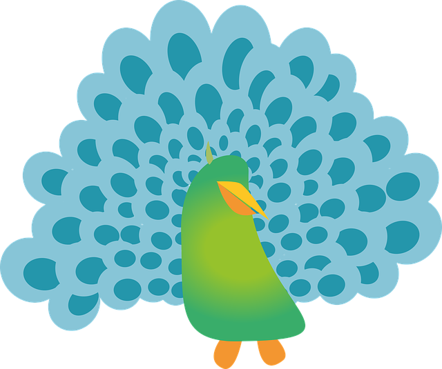 Pretty Peacock Stickers messages sticker-5