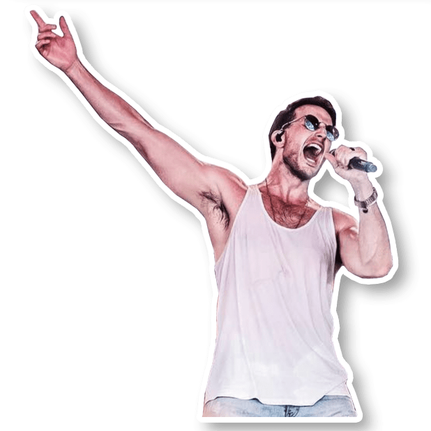 Russell Dickerson's: RD app messages sticker-1
