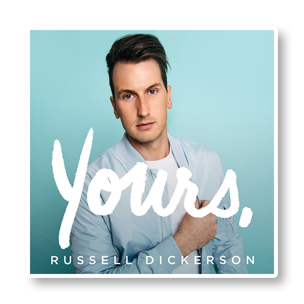 Russell Dickerson's: RD app messages sticker-10