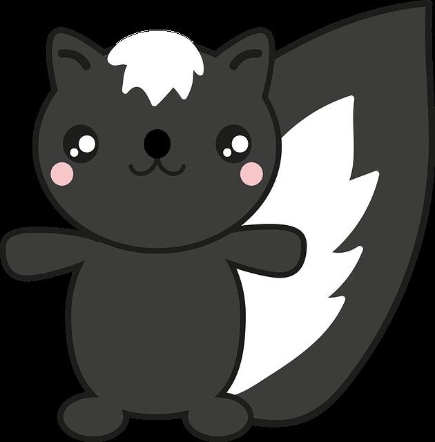 Sweet Skunk Stickers messages sticker-1