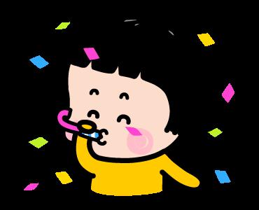 Little Girl Mimi Sticker messages sticker-2