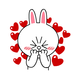 Cute Bunny Sticker messages sticker-4
