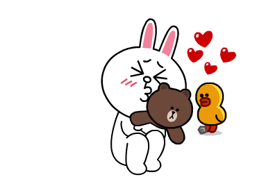 Cute Bunny Sticker messages sticker-2