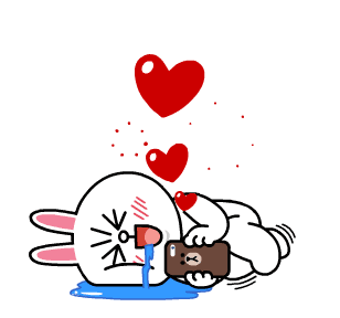 Cute Bunny Sticker messages sticker-5